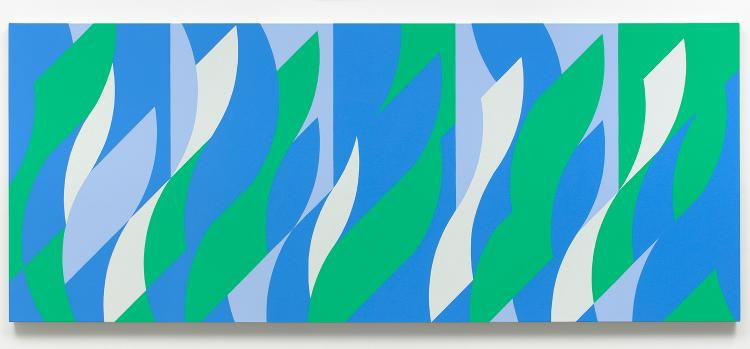 Silver Painting (Painting With Verticals Cadence 3)