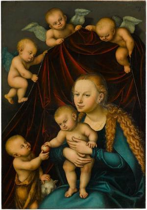 Die Madonna mit dem Kind und dem Johannesknaben, 1535