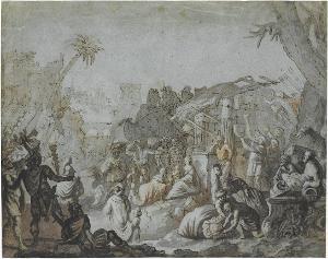 Anbetung der Könige, 17. Jh.