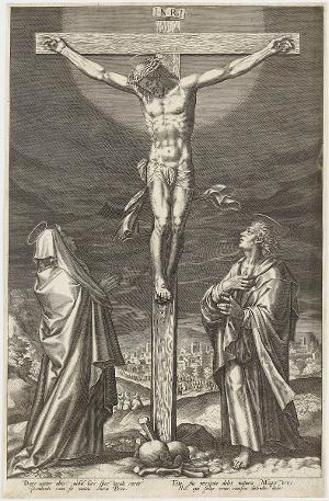 Christus am Kreuz (Die Passion Christi), um 1600
