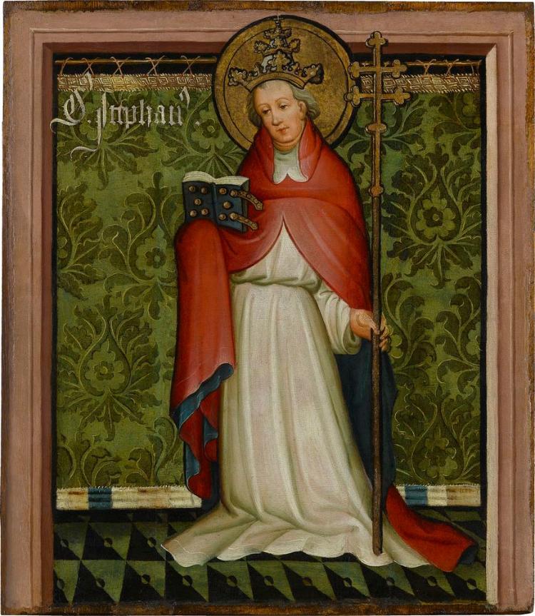 Der Heilige Papst Stephanus
