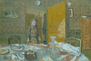 Frühstückstisch, 1900