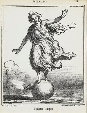 Europäisches Gleichgewicht (Le Charivari, 03.04.1867), 1867