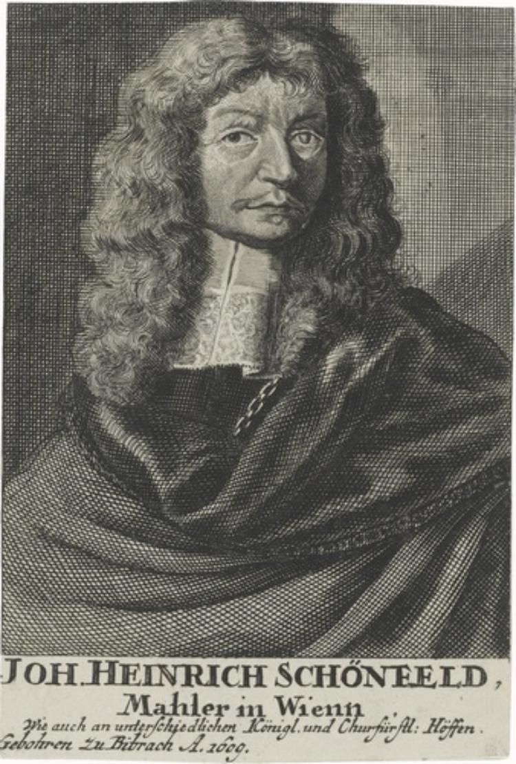Bildnis Johann Heinrich Schönfeld