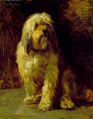 Der Hund Fidele, 1884