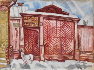 Das rote Tor, 1917