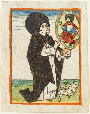 Der heilige Dominikus, um 1470