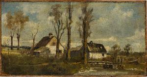 Häuser am Bach, nicht datiert