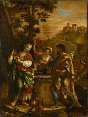 Rebekka am Brunnen, 18. Jh.