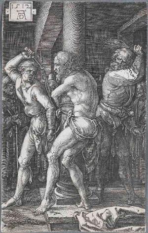 Die Geißelung (Die Kupferstichpassion), 1512