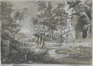 Klage um den toten Vogel, um 1710/20
