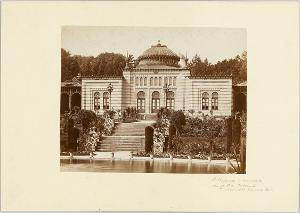 Die Wilhelma bei Cannstatt, um 1876