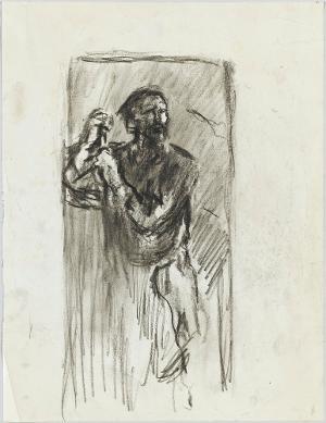 Ruheloser Wanderer, um 1916
