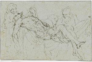 Grablegung Christi, um 1550/70