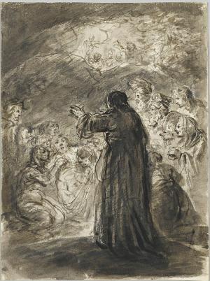 Erweckung des Lazarus, 18. Jh.