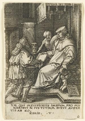 Der Tod und der Kardinal, 1541