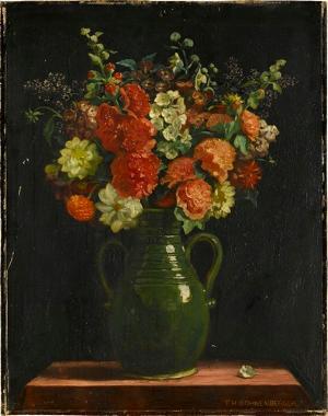 Blumenstilleben, nicht datiert