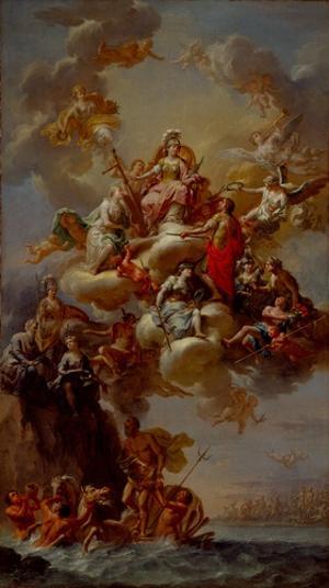Verherrlichung Genuas, 1782