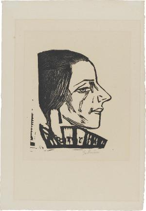 Bildnis Marie Swarzenski (1889-1967), 1925