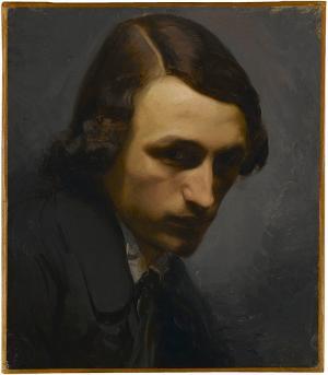 Der Maler Adolf Seel, um 1845-1848