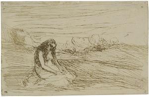 Madeleine en méditation (Magdalena in Meditation), 1858