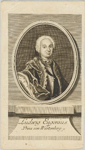 Ludwig Eugen, Prinz von Württemberg (1731-1795), 18. Jh.