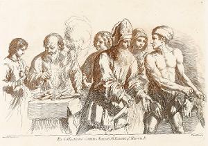Opfer (Taf. 14 in: Raccolta di alcuni disegni del Barberi da Cento detto il Guercino), 1764 (um 1780)