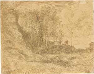 Souvenir d'Ostie (Erinnerung an Ostia), 1855