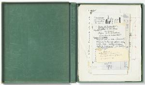 La Mariée mise à nu par ses célibataires, même / Boîte verte (Die Braut  von ihren Junggesellen nackt entblößt, sogar / Grüne Schachtel), 1934