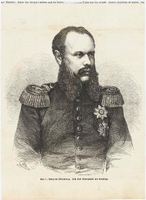 Karl König von Württemberg (1823-1891) , um 1845