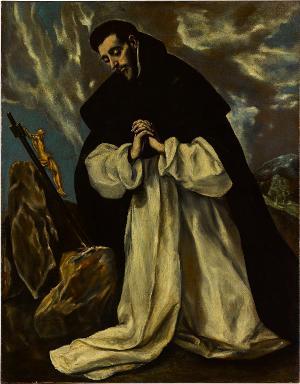 Hl. Dominikus, 19. (20.?) Jh.