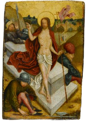 Auferstehung Christi, um 1500