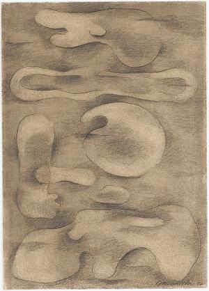 Figur malerisch, 1937