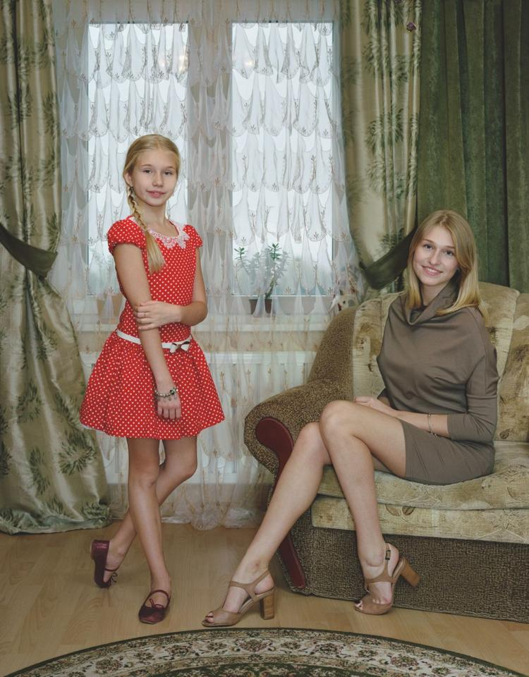 Marianna and Sasha, Kingisepp, Russia November 2, 2014