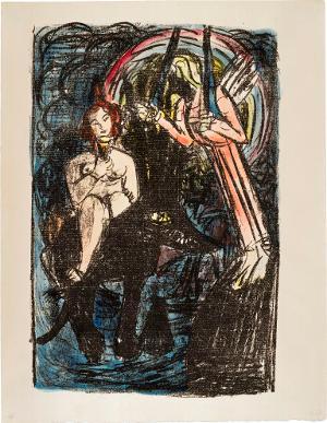 Apokalypse: Die große Babylon, die Mutter der Hurerei und aller Gräuel auf Erden (Offenbarung XVII, 3-5), 1941/42