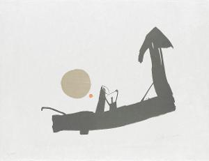 Komposition (in: Europäische Graphik II - Künstler aus dem deutschen Sprachraum), 1963