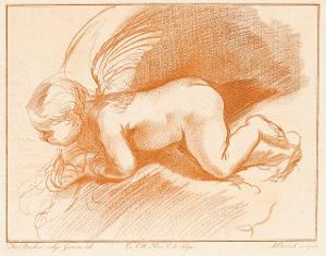 Geflügelter Putto, 1787
