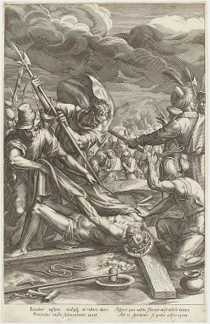 Die Entkleidung (Die Passion Christi), um 1600