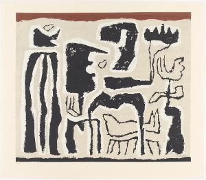 Afrikanisch (Afrikanische Erzählung; Afrikanische Spiele), 1950