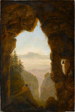 Felsenschlucht, 1. Hälfte 19. Jahrhundert