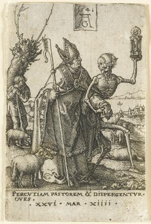 Der Tod und der Bischof, 1541