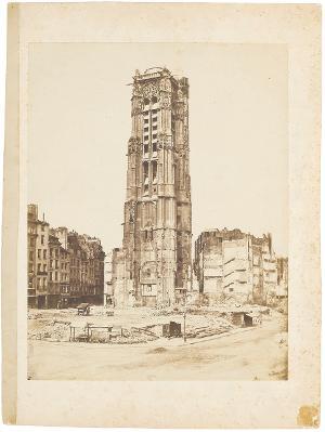 Tour St. Jacques, um 1850