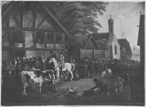 Viehmarkt, nicht datiert