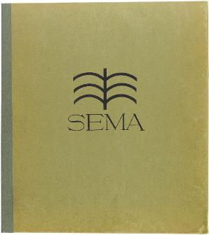 Sema. 15 Originalsteinzeichnungen, 1912