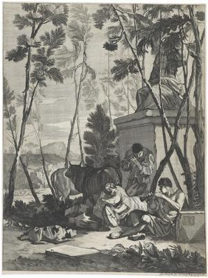 Hirtenidyll mit Kühen, 1662