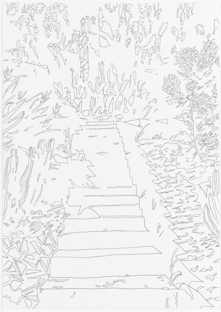 Vogelhaus (Alexander v. Branca). Aus der Serie »Mariposa«