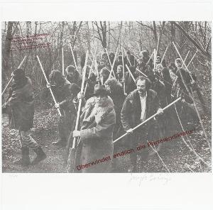 Landschaft - Überwindet endlich die Parteiendiktatur - Rettet den Wald, 1972