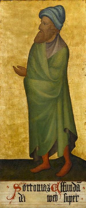 Sogenannter Ulmer Hochaltar: Joel, um 1400