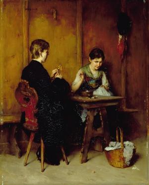 Der schüchterne Verehrer, 1884