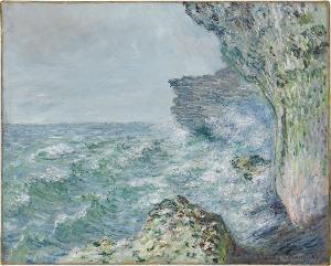 Das Meer bei Fécamp, 1881